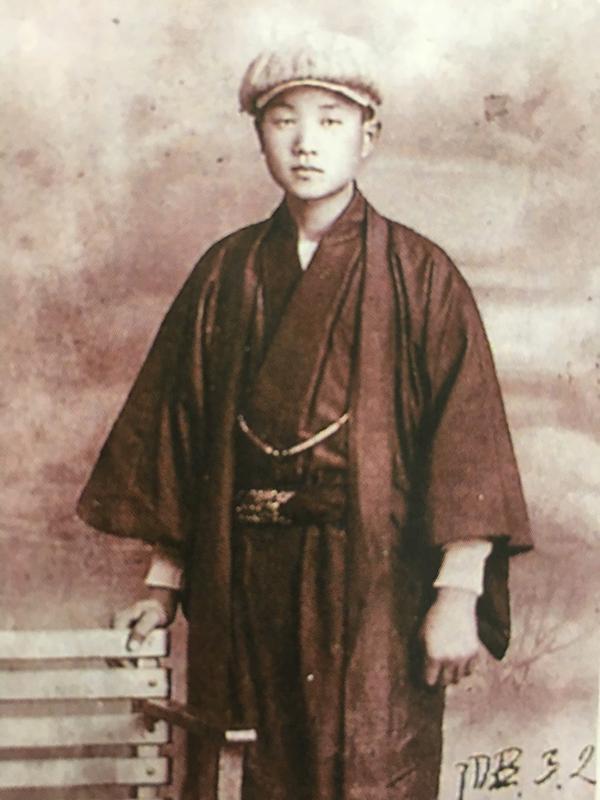 17歳の時の前田源吾