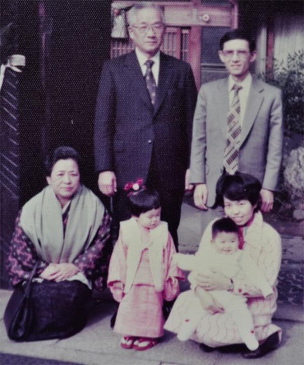 昭和52年当時の前田フアミリー